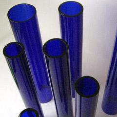 Coloured Tubular Glass